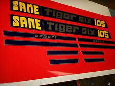 Same Tiger tractor badges / decals