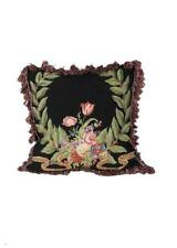 Aubusson Pillow with tassel fringe
