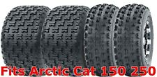 22x7-10 & 22x10-10 Complete Set Arctic Cat 150 250 Sport ATV Tires
