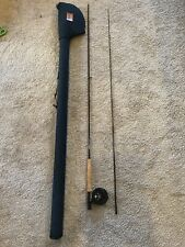 """Sage DS 690 Graphite II #6 9'0"""" 3 3/8oz Fly Fishing Rod Travel Case & Epic Reel"""