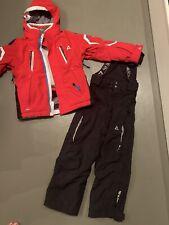 Dare2b Kinder Schnee Set Ski Anzug Kombi Hose Jacke Schwarz Rot 5 6 116 122
