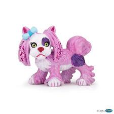 *New* Papo 39100 Pink / White Yorky Dog - Canine Fantasy