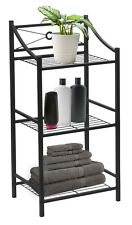 Sorbus 3-Tier Bathroom Storage Shelf with Towel Bar