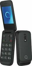 Brand New Alcatel 2053D Negro Dual Sim - Black - 2019 Flip Phone - UK STOCK