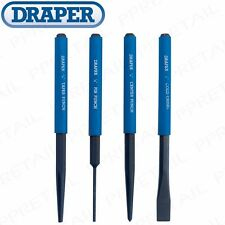 Draper 4 Piece Chisel and Punch Set 26559