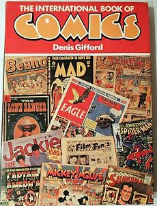 BOOK The International Book of Comics by Dennis Gifford History of Comics 1984