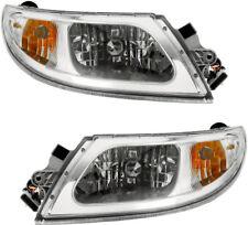 NEW Headlights w/Bulb Pair Set for 04-15 International 4100 4200 4300 4400 Truck