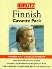 Berlitz Finnish Cassette Pack/Phrase Book and Cassette (Berlitz Phrasebooks) by