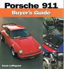 1965-2001 PORSCHE 911 Buyer's Guide (manual); by Randy Leffingwell