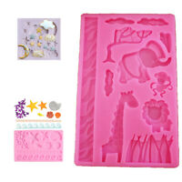 Craft Mould Fondant Cake  Candy Decor Mold Tools Silicone Chocolate Baking Sugar