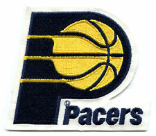 "1990-2005 INDIANA PACERS NBA BASKETBALL 4.75"" TEAM LOGO PATCH"