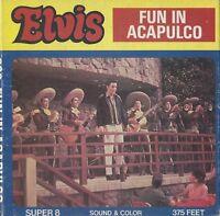 FILM 8MM ELVIS PRESLEY - FUN IN ACAPULCO  - IN BOX -  VINTAGE ANNEES 70 - RARE !