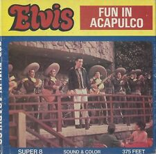 FILM 8MM ELVIS PRESLEY - FUN IN ACAPULCO  - IN BOX -  VINTAGE ANNEES 70 - RARE !