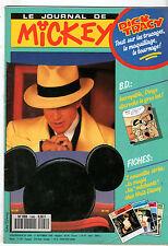 LE JOURNAL DE MICKEY n°1996 ¤ 1990 ¤ ZOUK MACHINE / DICK TRACY
