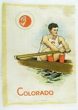 C.1910 University of Colorado Sports Tobacco Silk Vintage Original #3