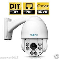 Reolink RLC-423 POE 4 MegaPixel 1440P 4X Optical Motorized Zoom PTZ IP Camera