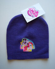 MY LITTLE PONY Knitted Beanie Winter Hat Purple  Age 2-5 years