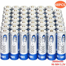 48x Aa 1.2V 3000mAh rechargeable battery Ni-Mh Bty cell for Rc Toy Camera Mp3