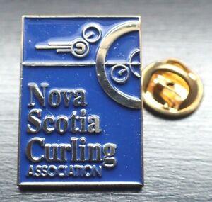 Nova Scotia Curling Association Pin
