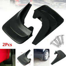 2Pcs Black Universal Car Fender Mud Flaps Mudguards Splash Guards Accessories