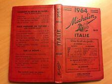 Guide Michelin Italie 1964, Edition avec prix 100 FB