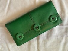 Matt & Nat Wallet Vegan Leather Green Wallet.