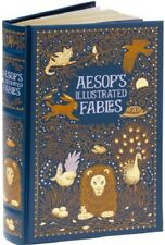 Aesops Fables Illustrated Book Leather Bound Arthur Rackham Hardcover Stories