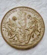 Médaille en plâtre 70  mm.