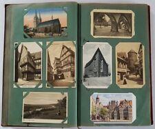 288 AK vor 1945 im Album, ab ca. 1900. Deutschland u. Europa.  ALLES ABGEBILDET!