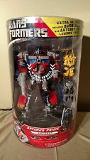 Transformers Movie 2007 Leader Optimus Prime Extra Value Batteries Work MISB