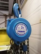 Tractel - tralift 3T Manual chain hoist with 10ft lift