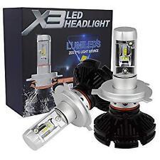 COPPIA LAMPADE X3 LED HEADLIGHT H7 LED CREE 6500K 6000 LUMEN 12V XENON FARI AUTO