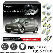 18x For Ford GALAXY 1995-2015 Xenon White 6K Car Interior LED Light Package Kit