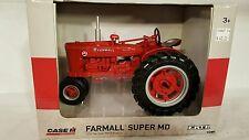 Ertl McCormick Farmall Super MD 1/16 diecast farm tractor replica collectible
