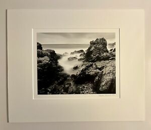 Patrick Jablonski 1997 Rocks And Cove 8X10 Silver Gelatin Photograph
