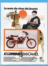 MOTITALIA981-PUBBLICITA'/ADVERTISING-1981- MORINI 500 CAMEL