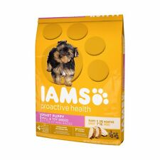 IAMS PROACTIVE HEALTH SMART PUPPY TOY/SMALL BREED CHICKEN DOG FOOD DRY 6#