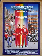 STAR TREK 4 - THE VOYAGE HOME rare German 1 sheet 1986 SHATNER / LEONARD NIMOY