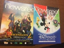 Disney Newsreel Magazine D23 Expo July 14, 2017 V 47 Issue 7 New