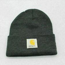 Dark Grey Unisex Car Acrylic hartt Hat Beanie For Women Men Winter Warm Knit Hat