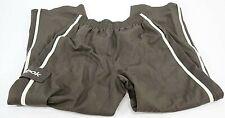 Reebok Kid's Athletic Fitness Sweat Pants Workout Joggers Black Size Medium