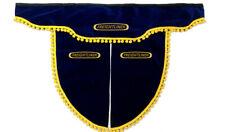 FREIGHTLINER TRUCK FRONT PELMET CASCADIA COLUMBIA CENTURY SUN VISOR BLUE&YELLOW