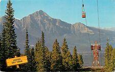 Jasper Sky Tram Alberta Canada Pyramid Mountain Postcard