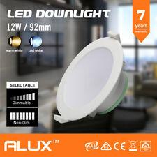 10x 12W LED DOWNLIGHT KIT LED WARM & COOL WHITE DAY LIGHT LED KIT DIMMABLE / NON
