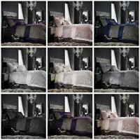 Tessella Fancy Luxurious Modern Duvet Quilt Cover Bedding Set with Pillow Case