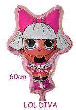 LOL Surprise Diva Doll Foil Balloon Helium Quality Large 60cm Party Decoration