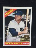 1996 Topps 1966 Commemorative Card #16 Mickey Mantle New York Yankees HOF MINT