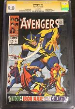 AVENGERS #51 CGC 9.0 SS STAN LEE Full Page Ad for IRON-MAN & Sub-Mariner 1 of 12