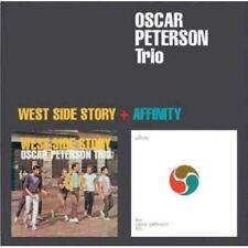 Oscar Peterson - West Side Story / Affinity [New CD] Bonus Track, Rmst