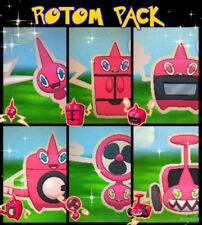Ultra Pokemon Sun and Moon Rotom Bundle 6IV-EV Trained